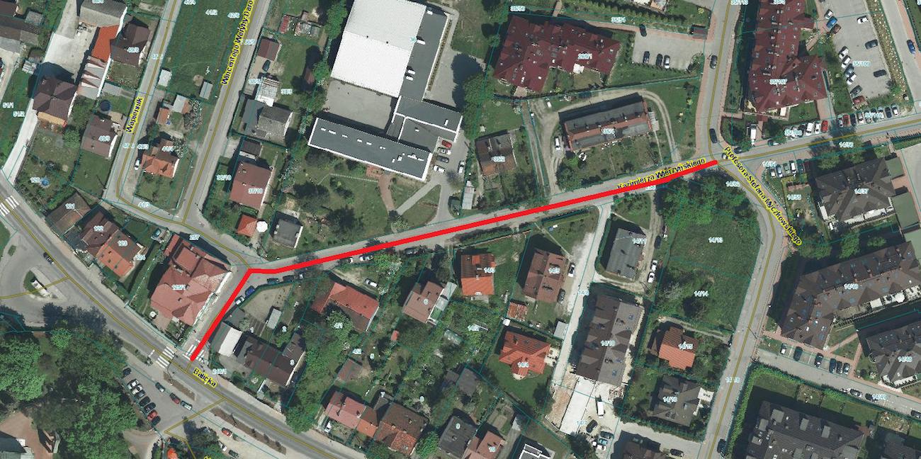 Przebudowa ulicy Wierzyńskiego w Krakowie