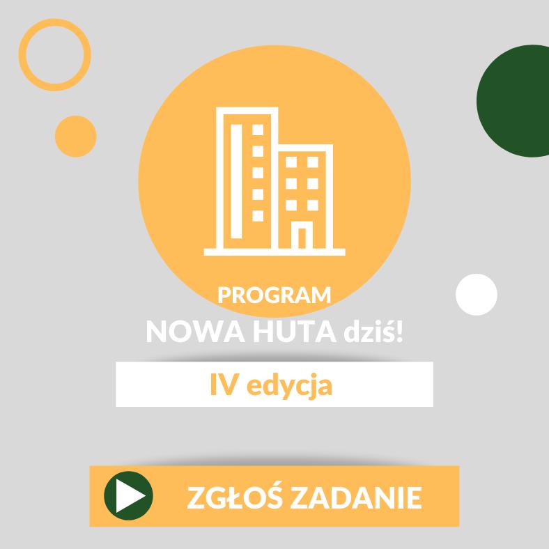 4. edycja programu Nowa Huta dziś!