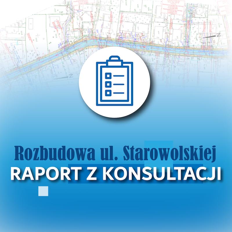 Koncepcja rozbudowy ul. Starowolskiej – raport z konsultacji