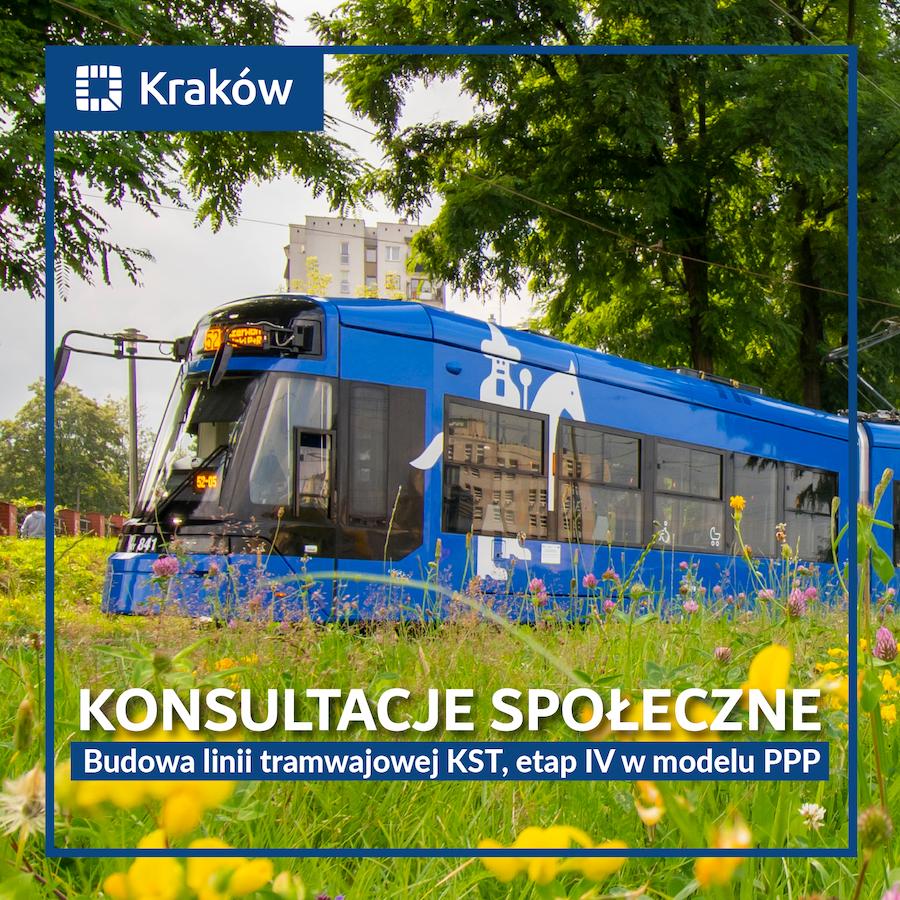 Przypomnienie. Linia tramwajowa do Mistrzejowic – przed nami spotkania konsultacyjne i dyżury telefoniczne